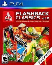 Atari Flashback Classics Vol. 2 USED SEALED (Sony PlayStation 4, 2016)