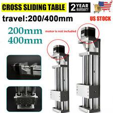 200mm/400mm Linear Motion System Guide Rail Sliding Table For 57 Stepper Motor