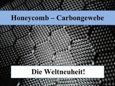Mondo novità: carbongewebe Honeycomb 250g/m², z-hgs-250, design tessuto, HEXAGON