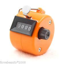 4 dígitos número Manual Tally mano contador mecánico Golf contador Counter RS2