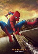Spiderman Marvel Dc regreso a casa Vengadores guerra civil cartel de impresión de Spider-Man A3 A4