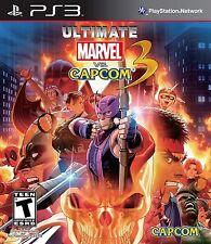 NEW Ultimate Marvel Vs. Capcom 3  (Playstation 3, 2011)