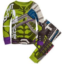 NWT Disney Store Hulk Costume PJ Pal Marvel's Thor Boys 3,4,5,6,7,8,10