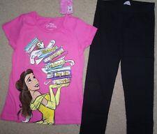 Nwt Gymboree 4 5 6 7 8 10 12 Gymfriends Disney Belle Books Tee Classic Leggings