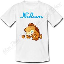 T-shirt Enfant Cheval Horoscope Chinois avec Prénom Personnalisé