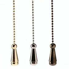 WML Chain Light Pulls   Antique Brass, Brass, Chrome