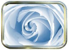 WHITE ROSE 2oz GOLD TOBACCO TIN,STASH CAN,STORAGE TIN