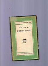 gideon planish - sinclair lewis