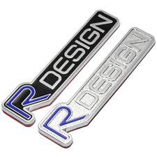 3D Metal R DESIGN RDESIGN Logo Emblem Tail Fender Badge Car Sticker For Volvo