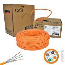 CAT.7 Netzwerkkabel Verlegekabel simplex Kupfer 1000MHz S/FTP PIMF CAT 7 Gigabit