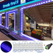 US Blue 10FT~1000FT 5050 3 LED Module Club Store Front Window Sign Light Lamp WQ