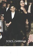 PUBLICITE ADVERTISING 2012 DOLCE & GABBANA haute couture MONICA BELLUCI