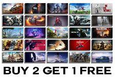 Gaming Posters Print Wall Art A4 A3 A2 Maxi Xbox PS4 Video Games Consoles