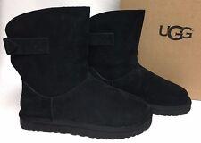 UGG Australia Remora Boots Short 1012029 Black Sheepskin Shearling sizes womens