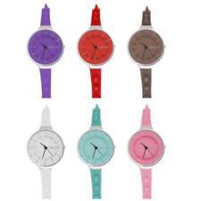 TALCO SPIKE Reloj De Mujer Noticias 2014 Correa Silicona Color Espàrragos Nuevo