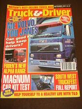 TRUCK & DRIVER - SOUTH WEST TRUCKFEST - Sept 2001