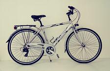 """BICI CITY BIKE Bicicletta UOMO 28"""" ALLUMINIO cambio shimano 7v"""