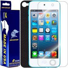 ArmorSuit MilitaryShield Apple iPod Touch 5G Screen + Black Carbon Fiber Skin!