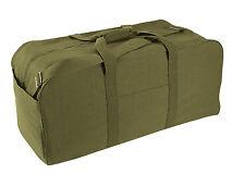 "cargo bag canvas water resistant jumbo 34"" x 16"" x 15""  rothco 8135 8134"