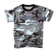 Rothco 6707 Kids Camo T-Shirts - Sky Blue Camo
