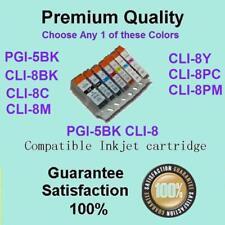 Any 1 PGI-5BK CLI-8 w CHIP Compatible for CANON PIXMA MP600 MP600R MP610 MP800
