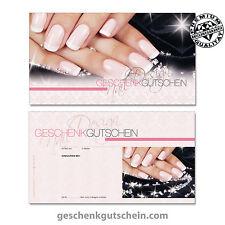 Geschenkgutscheine für Nagelstudio, Maniküre, Fingernagelstudio, Nägel KS1270