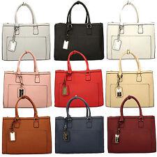 SWANKYSWANS® Womens Ladies Designer Work Bag Business Large College Uni Handbag