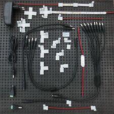 LED Zubehör Dimmer Y - Split Kabel Hohl- Kupplung Stecker 5,5 x 2,1 mm Clip 8 mm