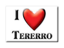 SOUVENIR USA - NEW MEXICO FRIDGE MAGNET I LOVE TERERRO (SAN MIGUEL COUNTY)