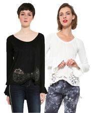 Desigual Long Sleeved Nelia Long Sleeved T-shirt Top XS-XXL UK 8-18 RRP �64