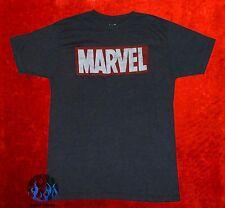 NEW Marvel Comics Logo Classic Vintage Mens T-Shirt