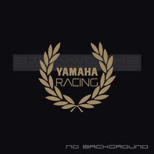 Yamaha Racing Wreath Decal Sticker logo Decal bike YZF R1 R6 Moto GP Pair