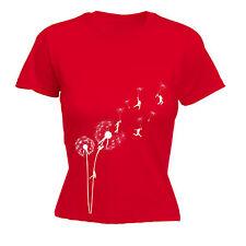 Dandelion Fleur Escalade T-shirt femme tee-shirt anniversaire grimpeur Hippie Liberté