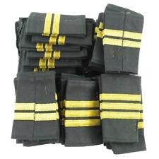 Canadian Forces Rank Slip-On Cloth Epaulette - Gold on Black