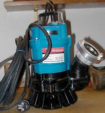 Schmutzwasserpumpe Tsurumi HS2.4S, Tauchpumpe, Baupumpe, 230V