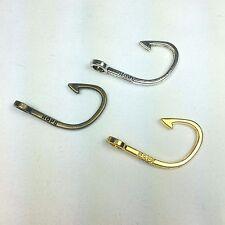 "Set of 5 Fish Hook ""Hope"" Fish Hook Connectors - 3 Colors - US Seller - Paracord"