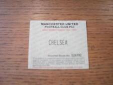 17/04/1995 Ticket: Manchester United v Chelsea [Adult Season Ticket Voucher Spec
