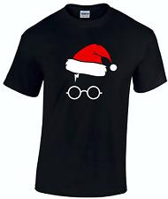 Harry Potter Hogwarts ispirata Novità Natale Natale Divertente T Shirt Top Unisex