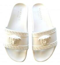5ad67f11674f VERSACE unisex sandal slippers DSU5883DG09GD01 white