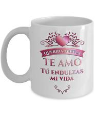 Taza Amo a mi Abuela Regalo Mug