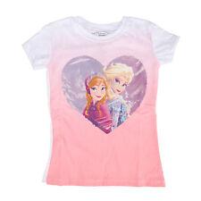 Disney Frozen Let It Go Cloudy Heart Juniors T-Shirt