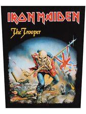Iron Maiden Patch Trooper Back Black 29x36cm