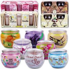 Bougies parfumées parfums d'ambiance assainisseurs de la chambre Glaskerze