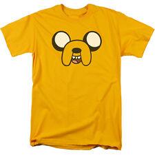 Adventure Time - Jake Head Cartoon Network Adult T Shirt