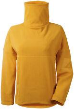 Didriksons Fleece Pullover Jumper Wilja Women's Jkt Yellow Breathable Elastic