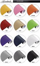 3D 4D Matte 5D 6D Gloss Carbon Fiber Vinyl Wrap Sheet Roll Film Sticker Decal *