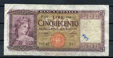 ITALIE - billet de 500 LIRE -  14.08.1947