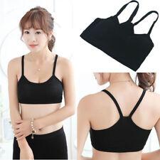 Fitness Women Bustier Vest Bralette Sport Bra Yoga Cotton Crop Top Tank Vest Bra