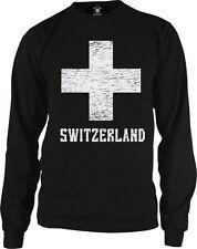 Switzerland White Cross Swiss die Schweiz Suisse Svizzera Long Sleeve Thermal
