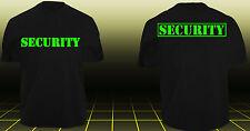 SECURITY T-Shirt Sicherheitsdienst Ordner Police Polizei SWAT Sicherheit TOP xxx